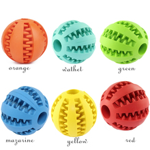 Dog Toy Interactive Rubber Balls Pet Dog Cat Puppy Elasticity Teeth Ball Dog Chew Toys Tooth Cleaning Balls Toys цена