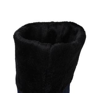 Image 5 - MORAZORA חורף חדש מגיע באיכות גבוהה נשים מגפי אופנה נעליים סקסי צאן חם גם נשים הברך גבוהה מגפי אישה