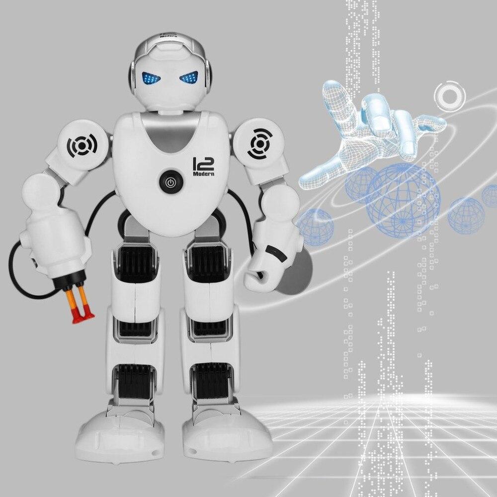 K1 Intelligente Alpha rc Robot Intelligent Programmation Humanoïde Télécommande Robot Jouet Démo Chant Danse Enfants Jouet Éducatif Cadeau
