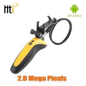 USB бороскоп, Полужесткий эндоскоп, Инспекционная камера, водонепроницаемая камера CMOS HD с 6 регулируемыми светодиодными лампами