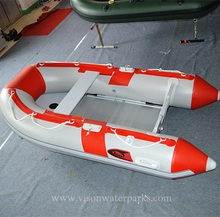 2.3m 1.2mm PVC tarp Huge water sports inflatable fishing kayak air huge inflatable fishing Speed boat yacht accessories marine