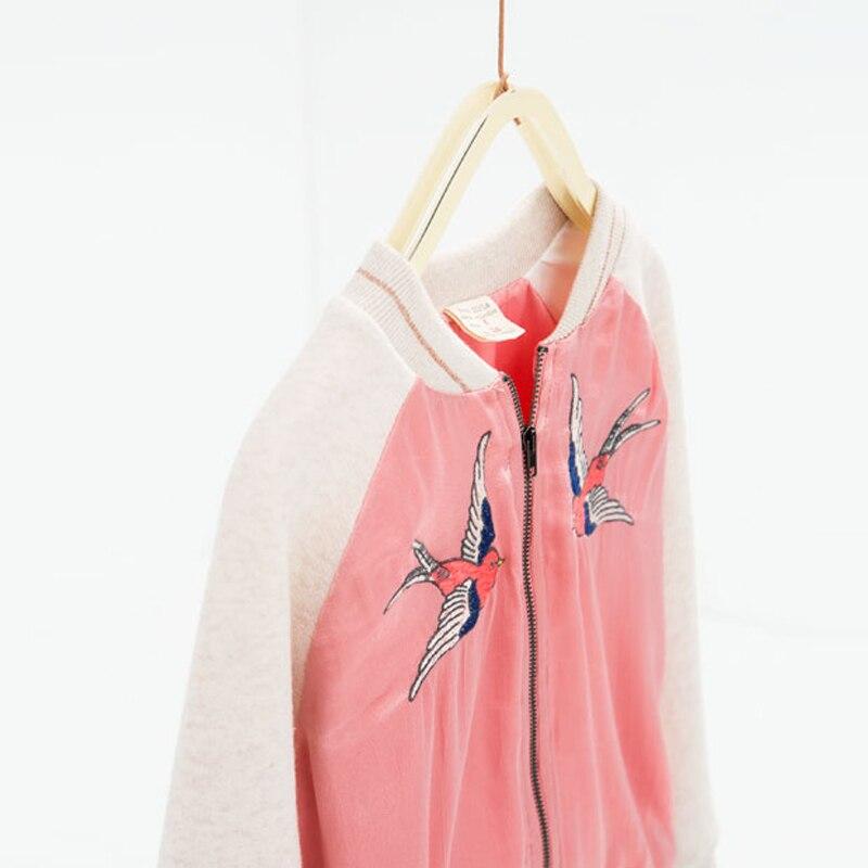 1a80ec5b95e6 YKYY YAKUYIYI New Swallow Pattern Embroidery Girls Coat Long Sleeve ...