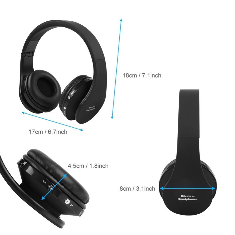 bluetooth wireless headset gaming headphone inbuilt. Black Bedroom Furniture Sets. Home Design Ideas