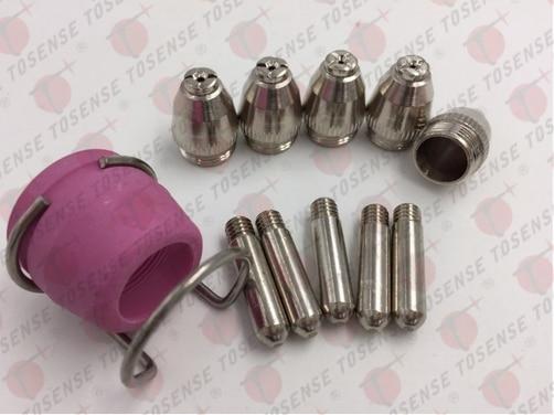 Free Shipping US Stock 12pcs Welding Accessories SG 55 WSD 60P AG60 Plasma Cutter Torch Pilot
