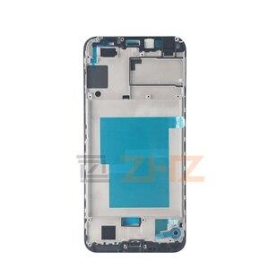 Image 1 - Para huawei Honra 7a pro Placa Quadro Do Meio LCD Apoio Mid Quadro Moldura Faceplate Habitação Reparação Peças De Reposição