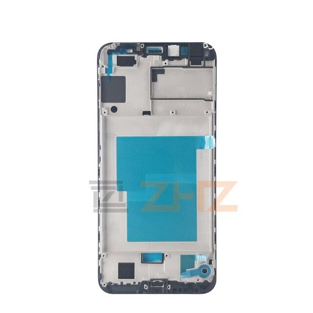 Para huawei Honra 7a pro Placa Quadro Do Meio LCD Apoio Mid Quadro Moldura Faceplate Habitação Reparação Peças De Reposição