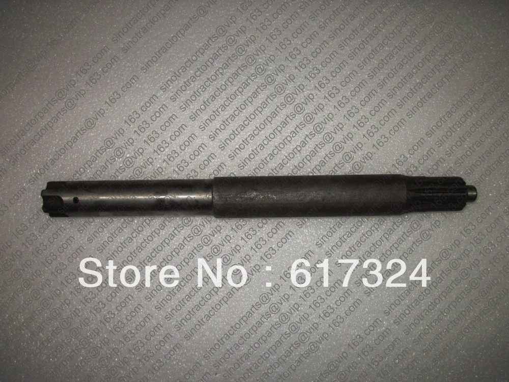 ФОТО DF300 304 tractor parts, the rear mid shaft, part number: 304A.36.107, length 29cm