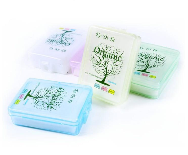 10 stks / partij Nagellak Remover Fruit Nursing Handdoek Wassen Nail - Nagel kunst - Foto 1
