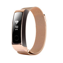 Milanese Magnetic Loop Stainless Steel Band Strap For Huawei Honor 3 Smart Watch Apr25