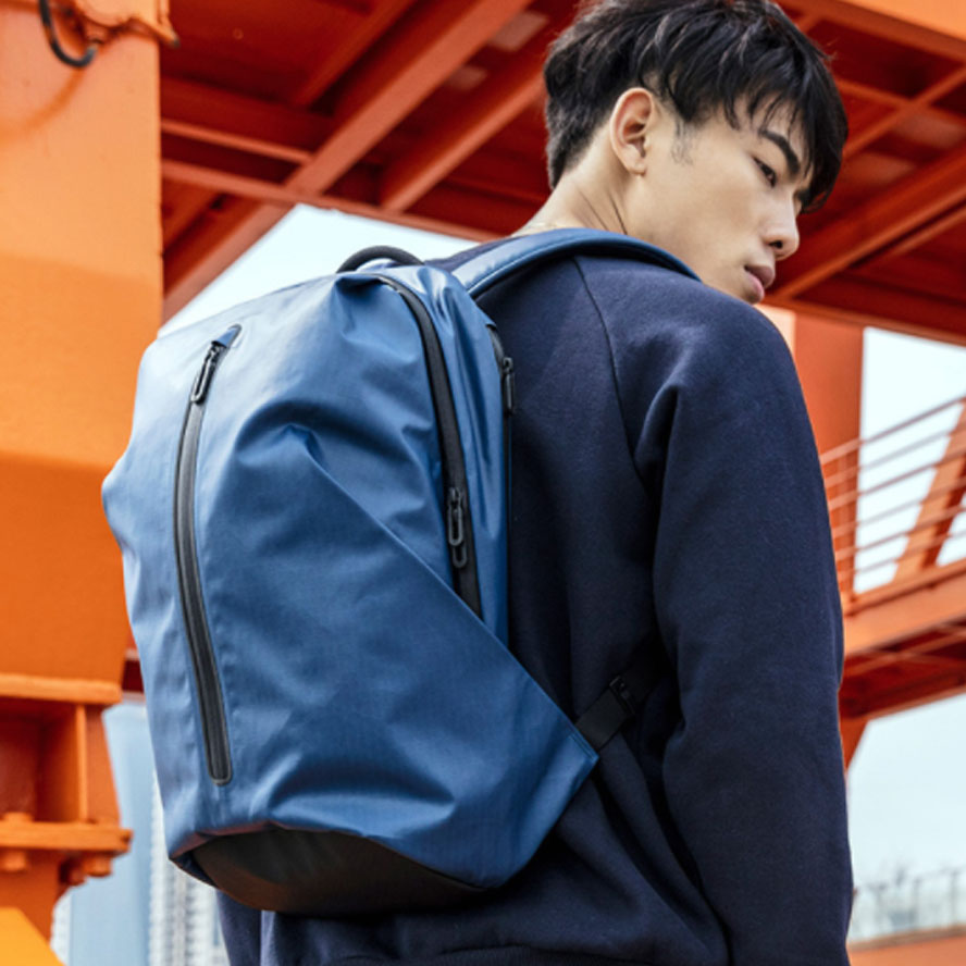 Оригинальный Xiaomi 90 всепогодный легкий функциональный городской рюкзак для ноутбука водостойкий 18л 14 дюймовый ноутбук - 5