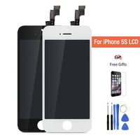 Best AAA Quality No Dead Pixel LCD For Pantalla IPhone 5S LCD Display With Touch Screen