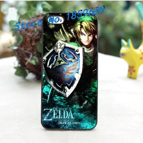 the legend of zelda fashion cover case for iphone 4 4S 5 5S 5C SE 6 6 plus 6s 6s plus 7 7 plus