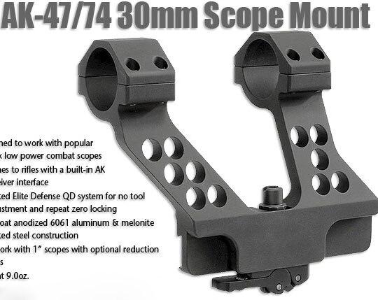 AK 47 74 QD side mount rail rifle scope ring for 1 inch 25.4mm - 1.25 inch 25.4mm ring tube Aluminum R5752AK 47 74 QD side mount rail rifle scope ring for 1 inch 25.4mm - 1.25 inch 25.4mm ring tube Aluminum R5752