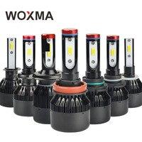WOXMA 2X H4 LED Headlight H7 Auto 12V Led Light H8 H11 H9 H1 H3 HB4