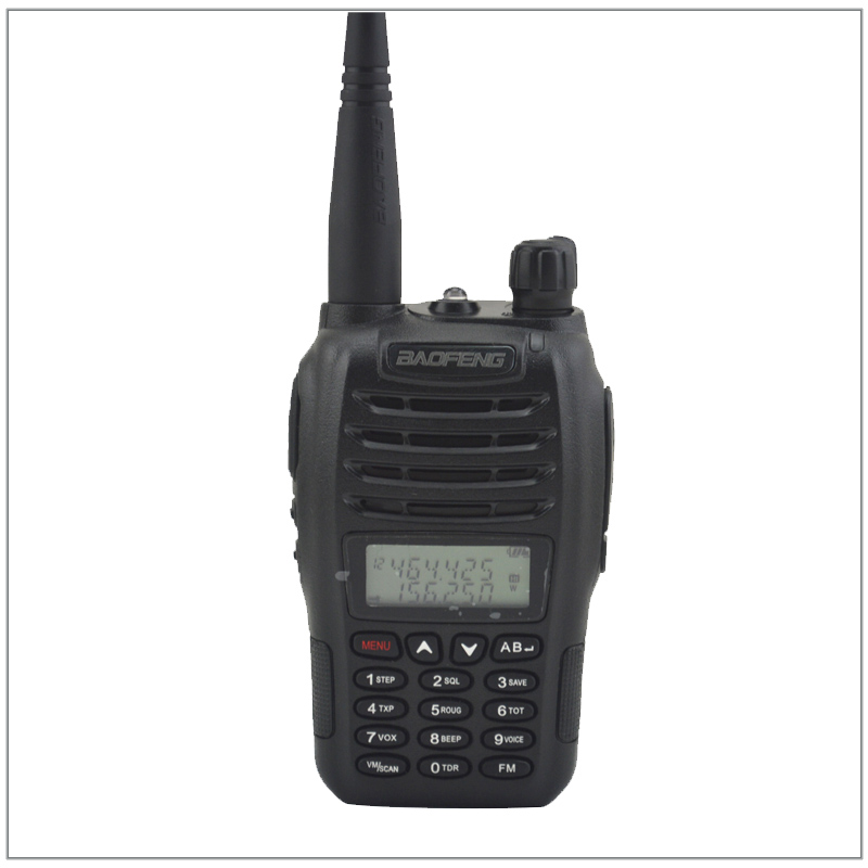 Baofeng UV-B6 Dual Band VHF 136-174MHz & UHF 400-480MHz 5Watts 99 Channels FM Portable Two-way Radio With Free Earpiece