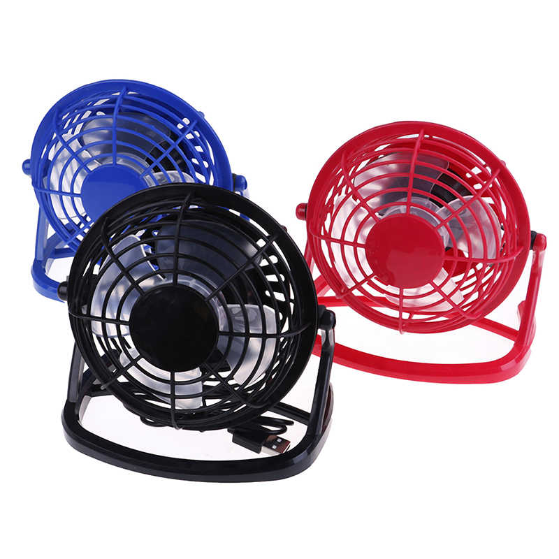 Nieuwe Draagbare Dc 5V Kleine Desk Usb Cooler Cooling Fan Usb Mini Fans Bediening Super Mute Stille Voor Pc /Laptop/Notebook