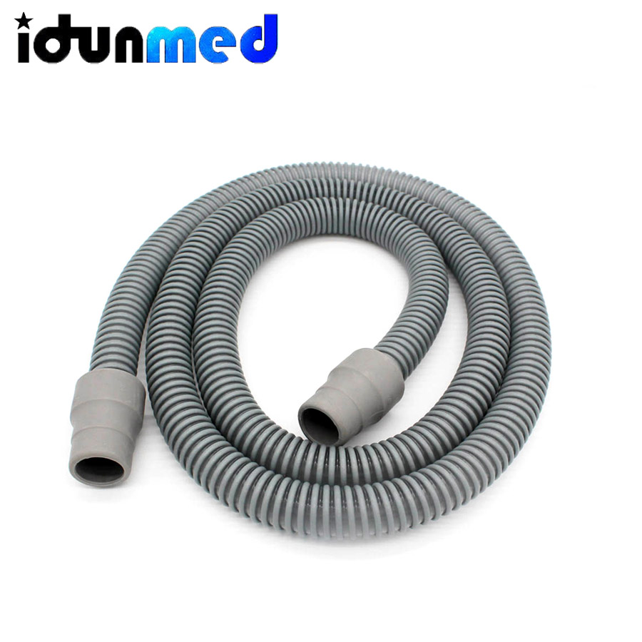 CPAP Tubing 1.8M Shrink Flexible Airing CPAP Tube Hose Pipe Connect With CPAP And Mask Breathing For Sleep Apnea