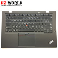 New/Orig for Lenovo Thinkpad X1 Carbon 3rd 20BS 20BT Arabic Backlit Keyboard with Palmrest Touchpad 00HT305 00HN950 SM20G18610