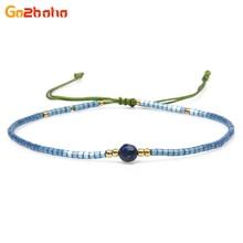 Go2boho Classical Ethnic Bracelets & Bangles for Women Seed Beads Bracelet Romantic Love Bangle Friendship Beaded Weave Jewelry