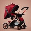Poussette kinderwagens 3 en 1 cochecito de bebé cochecito infantil cochecito de Bebé envuelve bebé sacos de dormir de alta calidad más caliente botines
