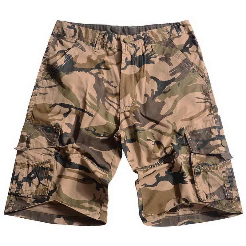 LASPERAL Hip Hop Casual de carga Camo para hombres pantalones casuales pantalones  cortos hombres Plus tamaño 821ebb23464