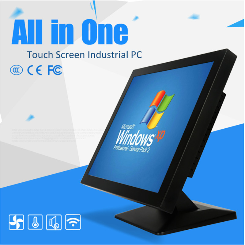 Wall Mounting Dustproof 15 Inch Industrial Touch Computer