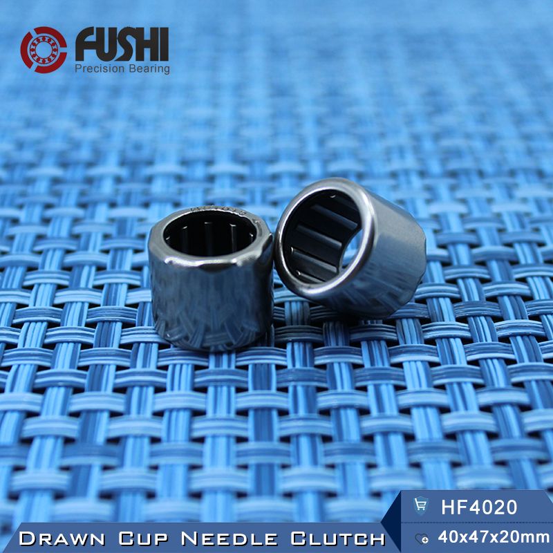 HF4020 Bearing 40*47*20 mm ( 1 PC ) Drawn Cup Needle Roller Clutch HF404720 FC-40  Needle Bearing nk38 20 bearing 38 48 20 mm 1 pc solid collar needle roller bearings without inner ring nk38 20 nk3820 bearing