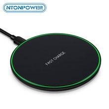 Беспроводное зарядное устройство ntonpower qi умное быстрое