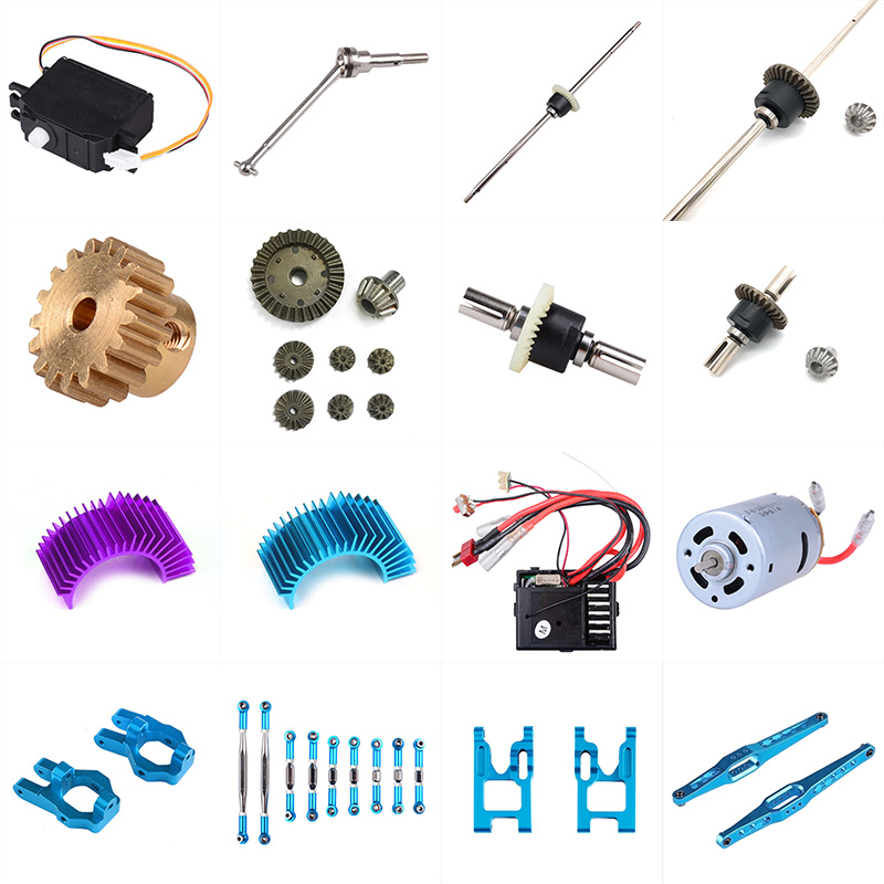 Wltoys 12428 12423 RC Car Spare Parts Classis/ rear axle/arm/wavefront box/gear/connecting piece etc. 12428 parts accessories parts for wltoys 12428 12423 1 12 rc car spare parts receiver accessories b116