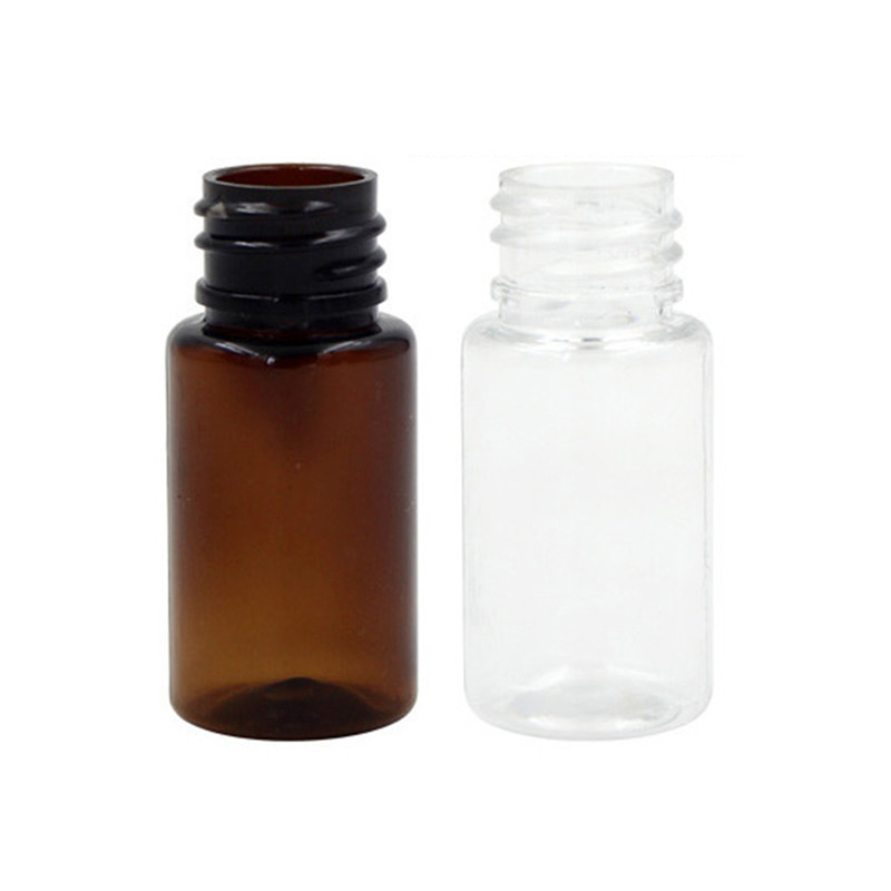 50pcs 5ml 10ml Mini Small Empty Pet Essential Oil Bottle