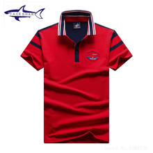 New fashion Tace & Shark polo shirt men brand Summer solid color cotton top quality slim fit casual mens polo hombre shark logo