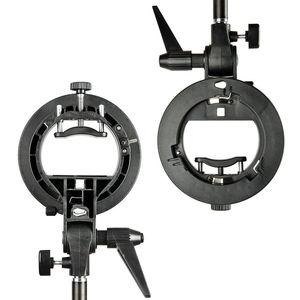 Image 2 - Godox S Type Durable plastics Bracket Bowens Mount Holder for Speedlite Flash Snoot Softbox Photo Studio Accessories