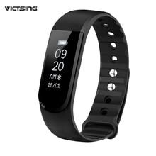 Victsing Bluetooth 4.0 IPX7 Водонепроницаемый Smart Браслет Спорт Фитнес трекер w/Музыка Управление, будильник, напоминание