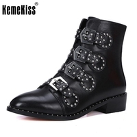 Brand Genuine Leather Motorcycle Boots Biker Shoes Women Suede Pointed Snow Boots Brand Shoe Famous Designer