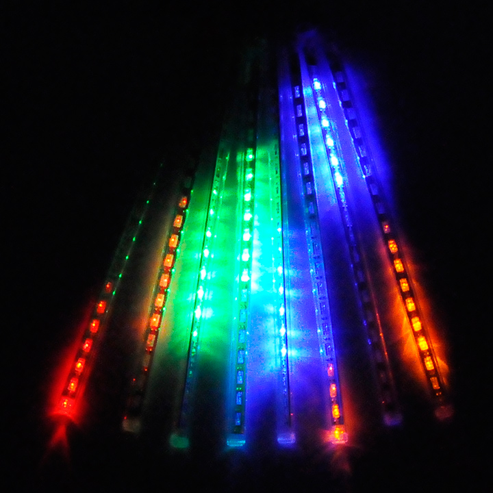 80LED Kalėdų šviestuvai Lauko užuolaidos Led styginiai žibintai - LED Apšvietimas - Nuotrauka 4