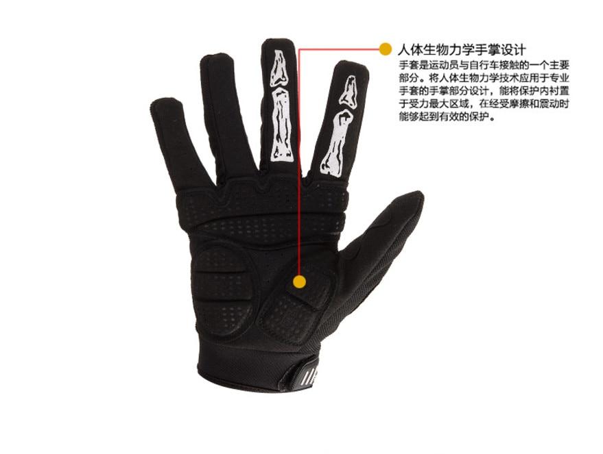 Yeni siyah Kafatası Pençe Eldiven Yarış Motosiklet Kemik İskelet - Spor Giyim ve Aksesuar - Fotoğraf 3