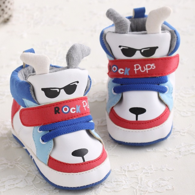 Aliexpress.com : Buy Newborn Infant Prewalker Baby shoes boys dog ...