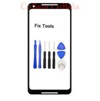 1Pcs Genuine Original For Google Pixel 2XL 2 XL XL2 Front Glass 6 0 Touch Screen