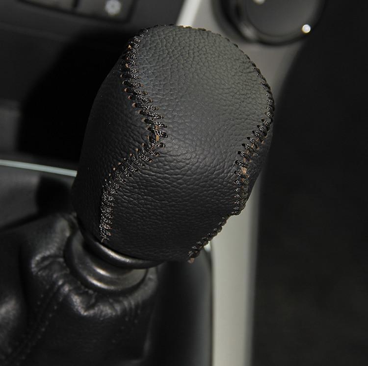 Тегін жеткізу 2PCS / SET Қара былғары - Автокөліктің ішкі керек-жарақтары - фото 5