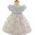 Bebé toddler lace princess tutu dress lolita dress 1 año de cumpleaños baby girl summer flower dress vestido de bautizo