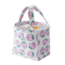 2019 Portable Thermal Insulated Cooler Bag Cartoon Drawstring Lunch Picnic Carry Tote Storage Case Box