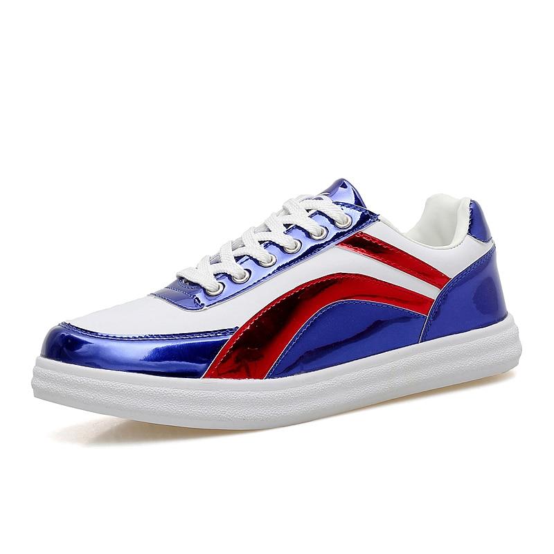 2017 populaire stijl mannen loopschoenen outdoor wandelen joggen schoenen lace up sneakers reflecterende lichtgewicht athletic schoenen