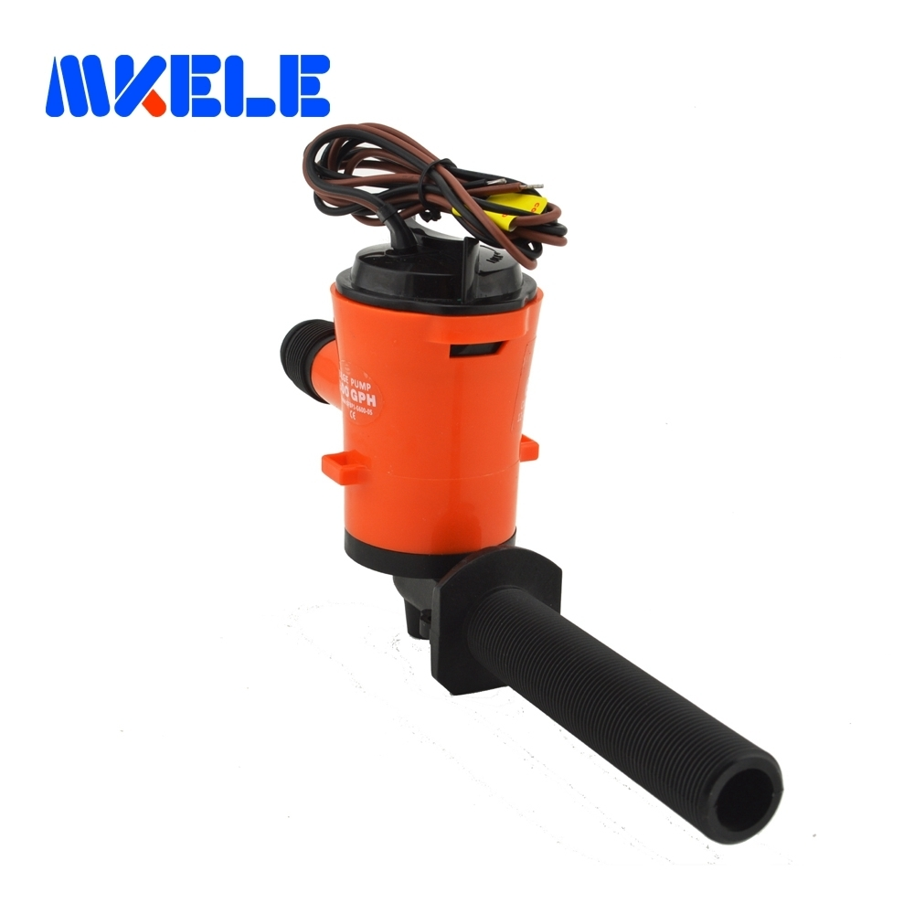 350gph MKBP1-G350-05 3/4 hose hand 12v bilge pump rule low current draw Built-In Float Switch System With Instruction Manual rule eco switch ecologically sound automatic bilge switch