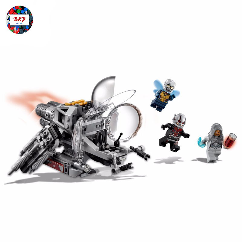 Marvel Avengers Ant Man And The Wasp Legoing 76109 Super Heroes Series 224Pcs Set Building Blocks Bricks Kid Toys LEPIN 07110 мультиварка marta mt 4309 900 вт 5 л белый серебристый