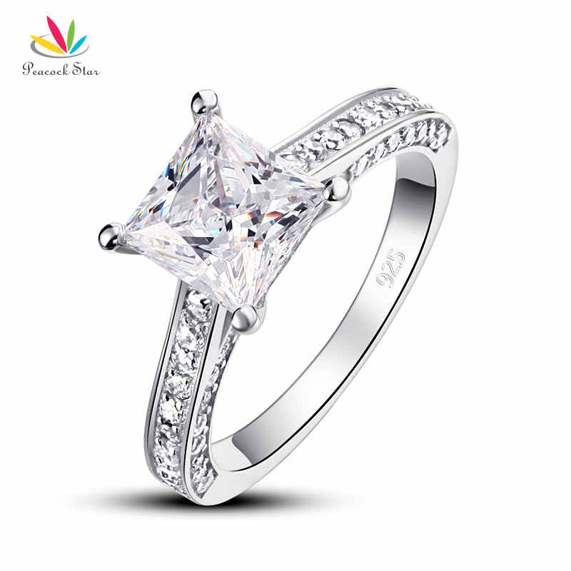 Peacock Star 925 Sterling Silver Wedding Anniversary Engagement