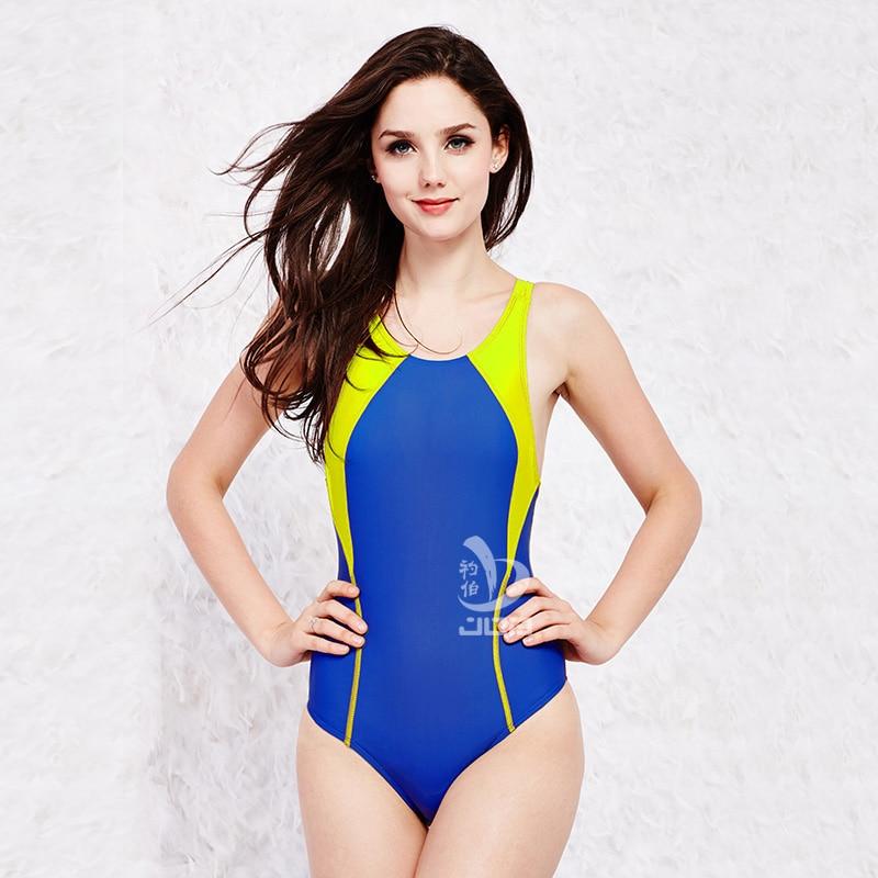 Job new  Women one piece chlorine resistant swimsuit competitive swim g racing swimwear swimming suit girls training swimsuit