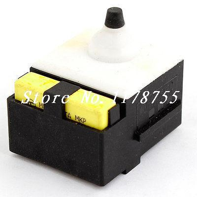 AC250V 8A SPST Momentary Electric Power Tool Angle Grinder Switch for Dewalt 125 electric power tool angle grinder spiral