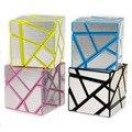 Cubo mágico 3x3x3 Cubo Fantasma 4 Cor Magico Cubo Enigma Blocos Cubo Desafio Educacional Crianças Presentes brinquedos 1329