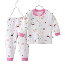 Детские пижамы, комплекты одежды, ночная рубашка для мальчиков и девочек, футболка с длинным рукавом+ штаны, комплект одежды для сна для девочек, кардиган, пижамы