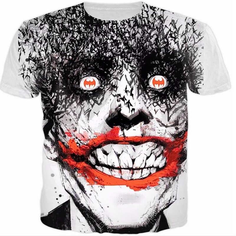 64642b0b01d6 ... T Shirt Suicide Squad Womens Mens Harley Quinn The Joker T Shirts Man  3D T Shirt ...